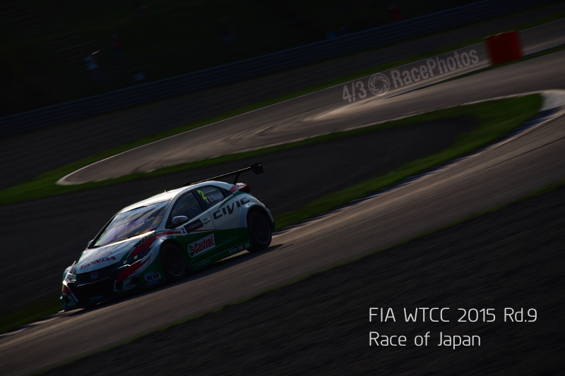 FIA WTCC 2015 Rd.9 Race of Japan